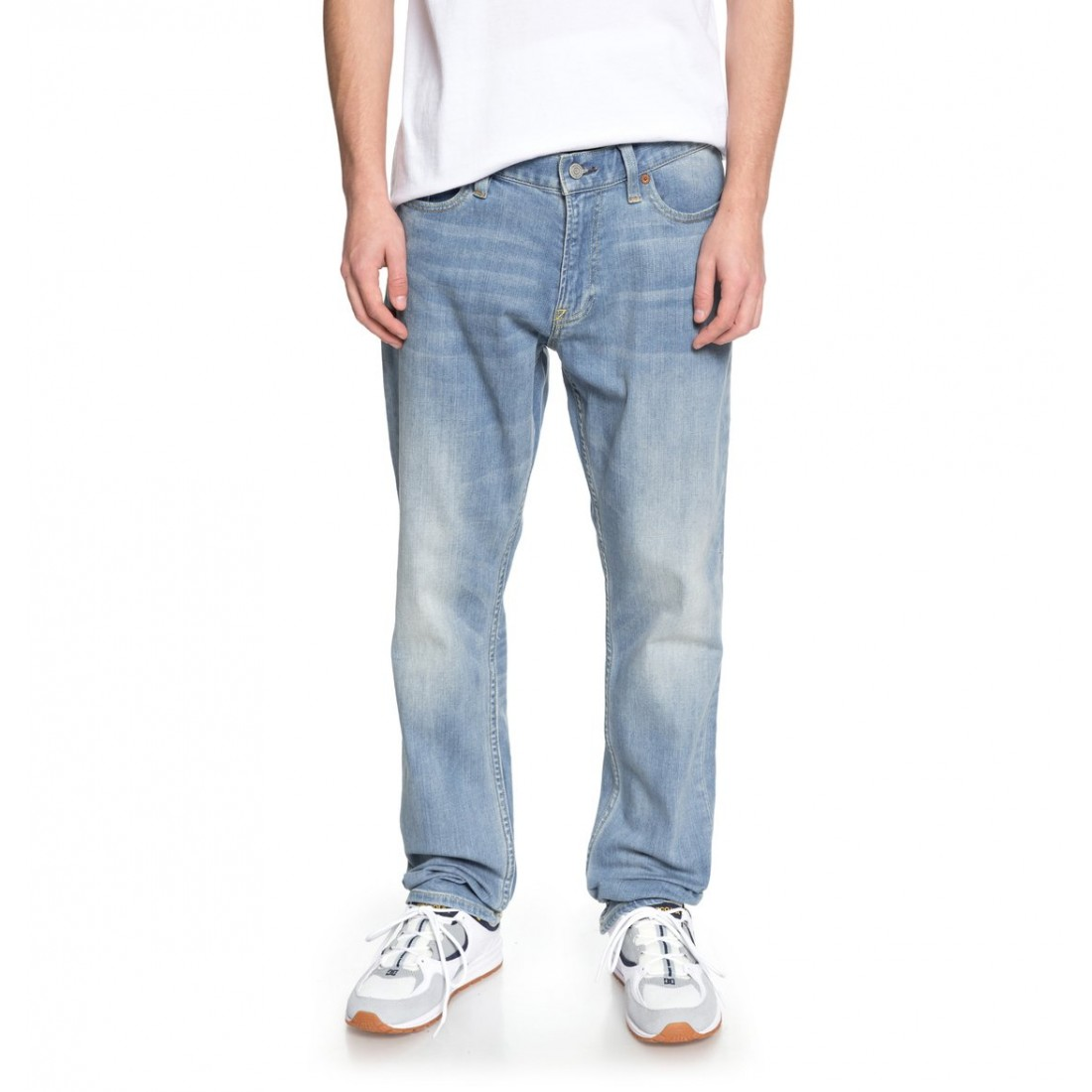 JEAN DC WORKER STRAIGHT light indigo bleach