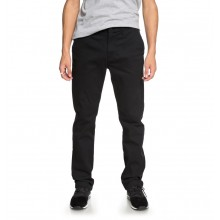 CHINO WORKER DC black