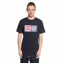 T-SHIRT DC GLOBAL SALUTE dark indigo