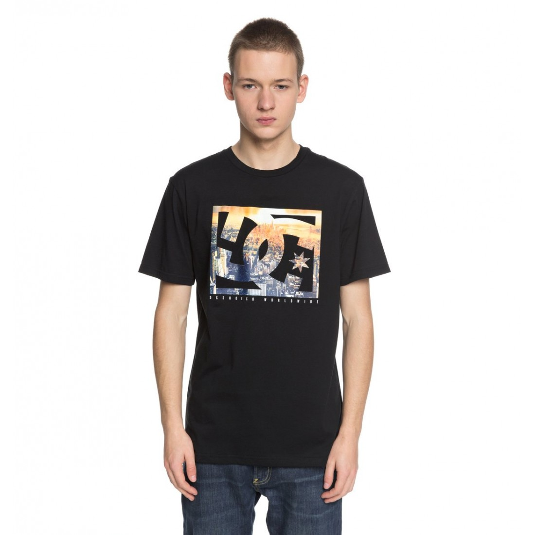 T-SHIRT DC EMPIRE HENGE black