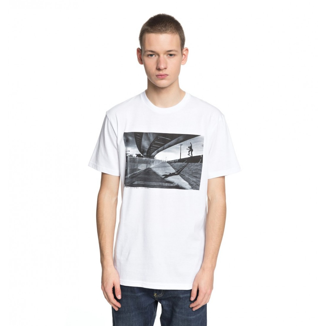 T-SHIRT DC WES SWITCH BLUNT white