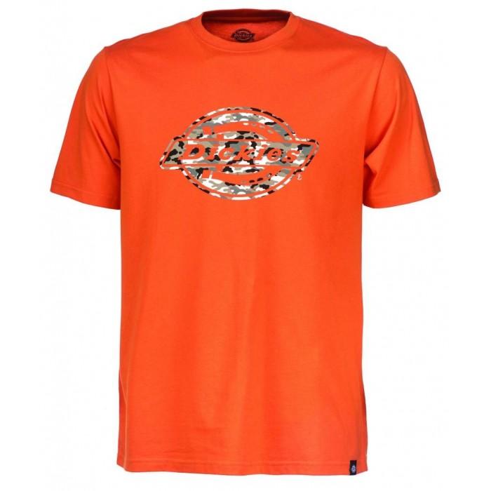 T-SHIRT DICKIES HS energy orange