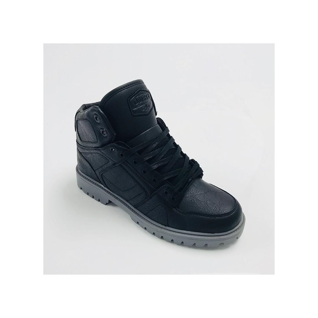 DCN BOOT black black grey