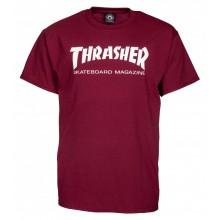T Shirt Thrasher Skate Mag Maroon