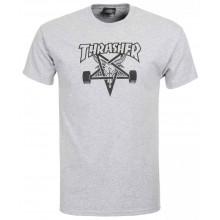 T Shirt Thrasher Skategoat Grey
