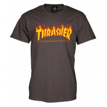 T Shirt Thrasher Flame Logo