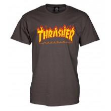 T Shirt Thrasher Flame Logo