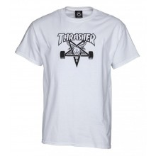 T Shirt Thrasher Skategoat white