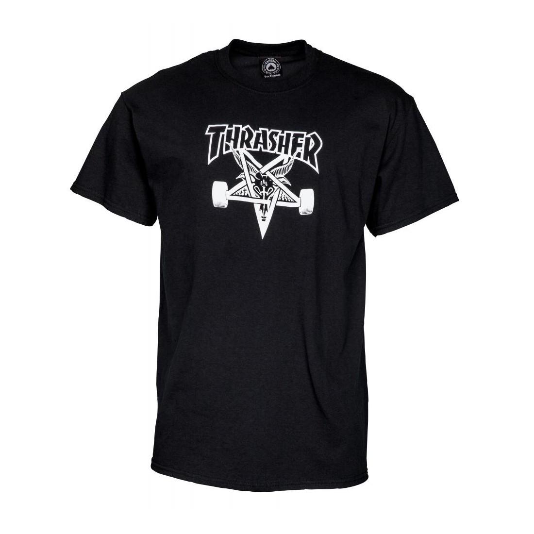 T Shirt Thrasher Skategoat black