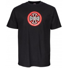 T-Shirt Independent Hollow Cross black