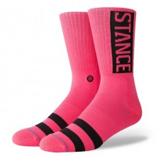 Chaussettes Stance OG neon pink