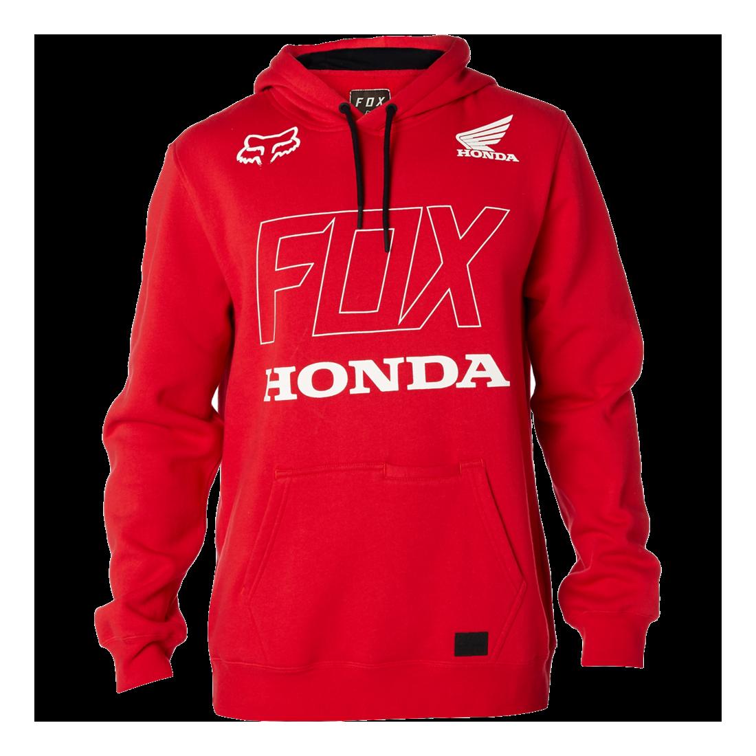 SWEAT FOX HONDA red