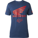 T SHIRT FOX HONDA indigo