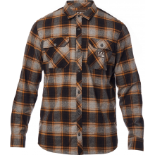 CHEMISE FOX TRAILDUST FLANNEL heather graphite