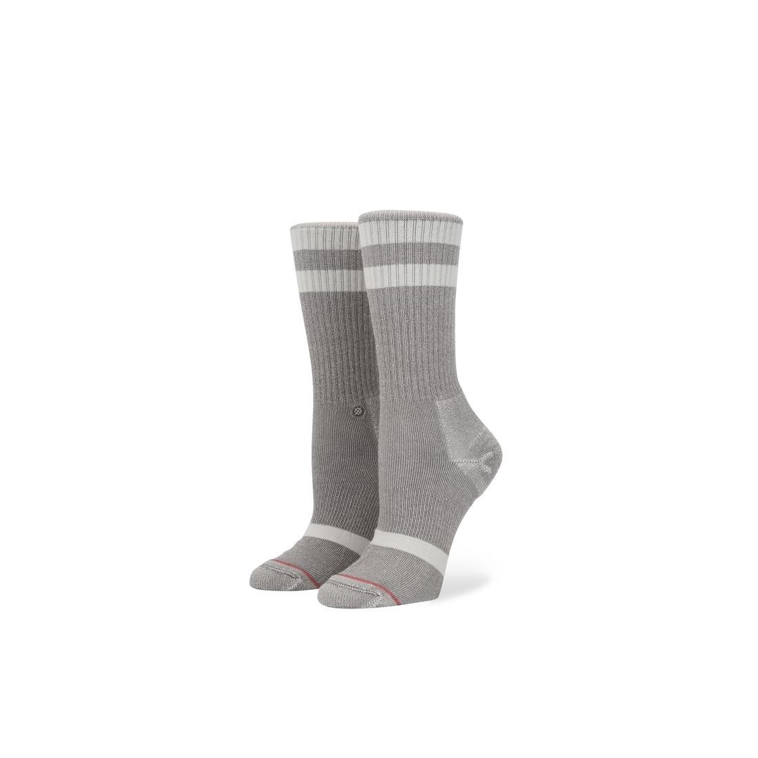CHAUSSETTE STANCE UNCOMMON CREW grise