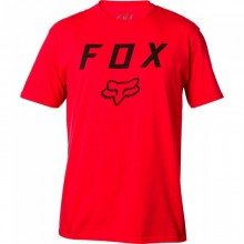 T SHIRT FOX LEGACY MOTH rouge