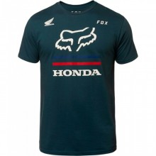 T SHIRT FOX HONDA navy