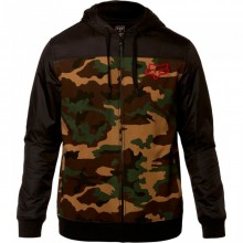 SWEAT FOX PIVOT ZIP camo