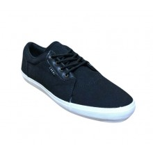 LAKAI TOE BLAK CANVAS