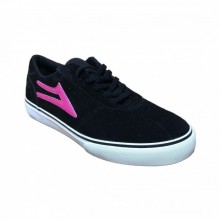 LAKAI CAMBY ECHELON BLACK CANVAS