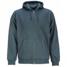 SWEAT DICKIES KINGSLEY ZIP charcoal grey