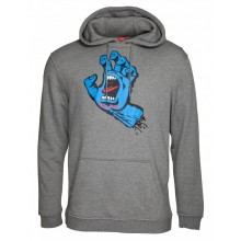 SWEAT SANTA CRUZ screaming hand gris