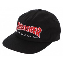 CASQUETTE THRASHER reglable outline