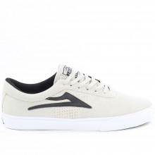 SHEFFIELD white black suede