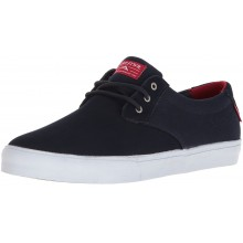 DALY navy suede
