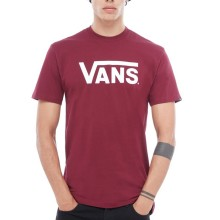 T-SHIRT VANS CLASSIC burgundy