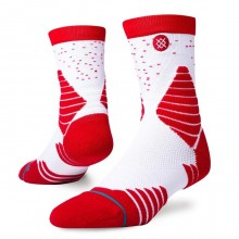 CHAUSSETTES STANCE GAME DAY QUARTER red