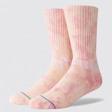 CHAUSSETTES STANCE CHECKNESS pink