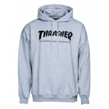 SWEAT THRASHER SKATE MAG gris