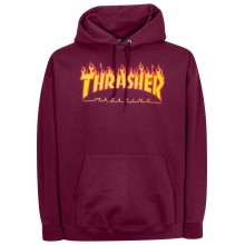 SWEAT THRASHER SKATE MAG marroon