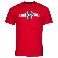 T Shirt Independent OGBC cardinal